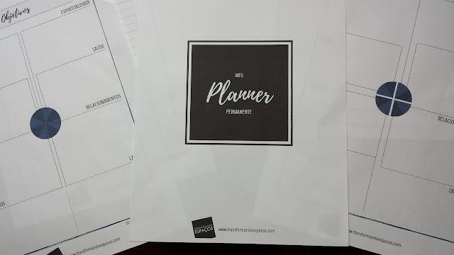 Organize sua vida e seu trabalho com um Planner Permanente!