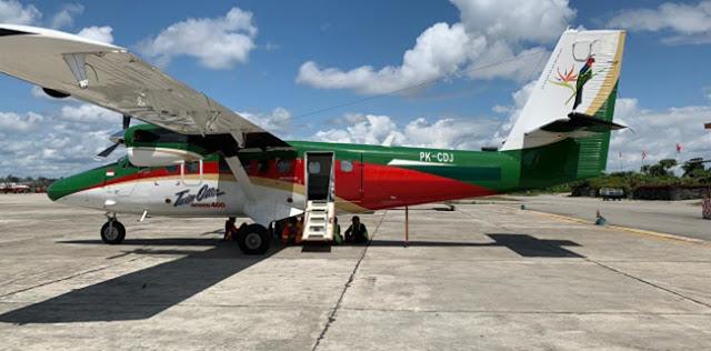 Bawa 1.700 Kg Beras Bulog Dan 4 Penumpang, Pesawat Twin Otter Hilang Kontak di Ilaga