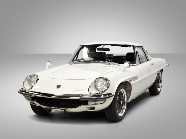 Mazda Cosmo 1960s Japanese classic sports car