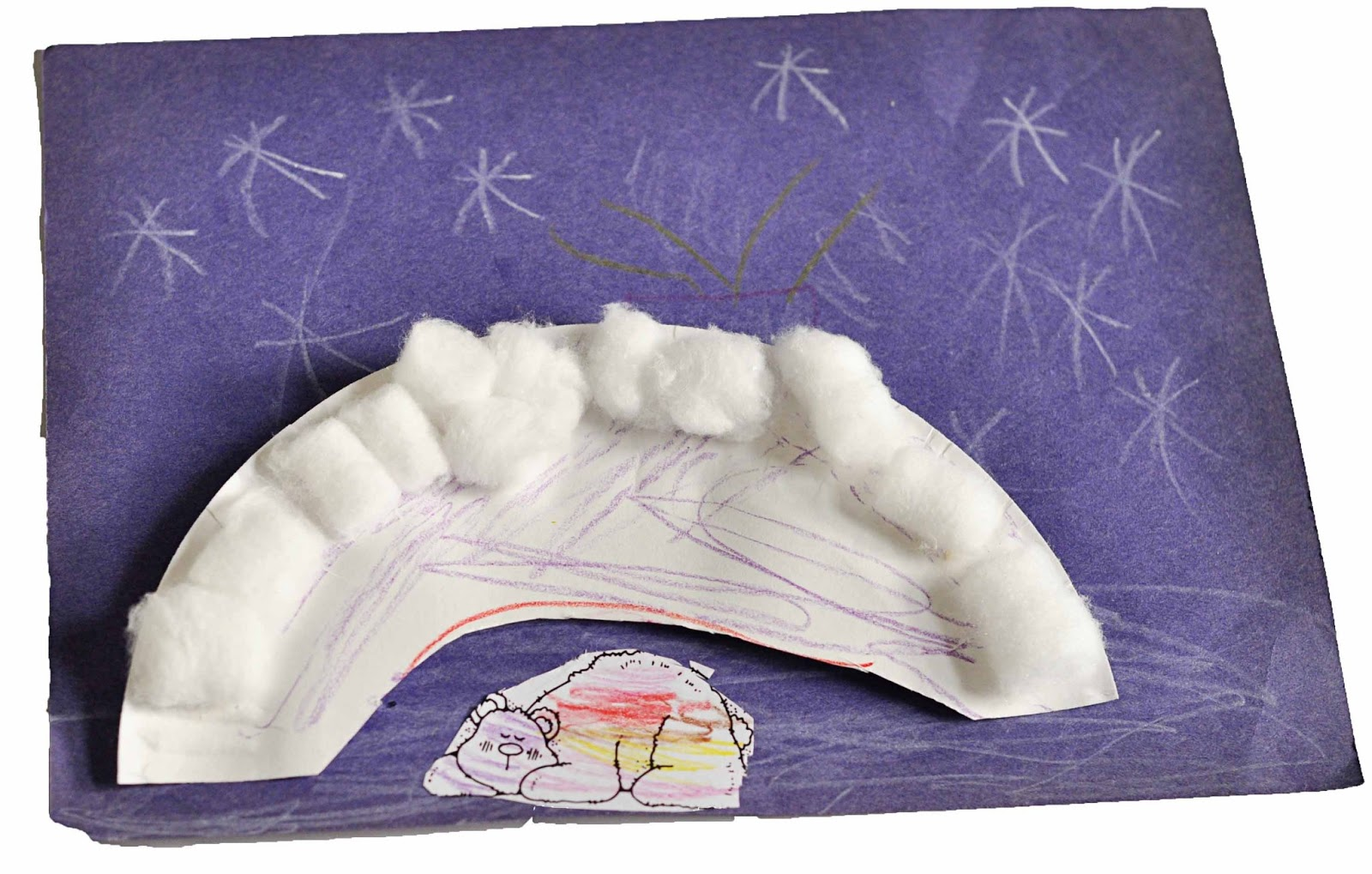 Children S Learning Activities Hibernating Polar Bear