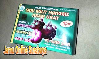 Jual kapsul Sari kulit manggis asam urat di sumatera