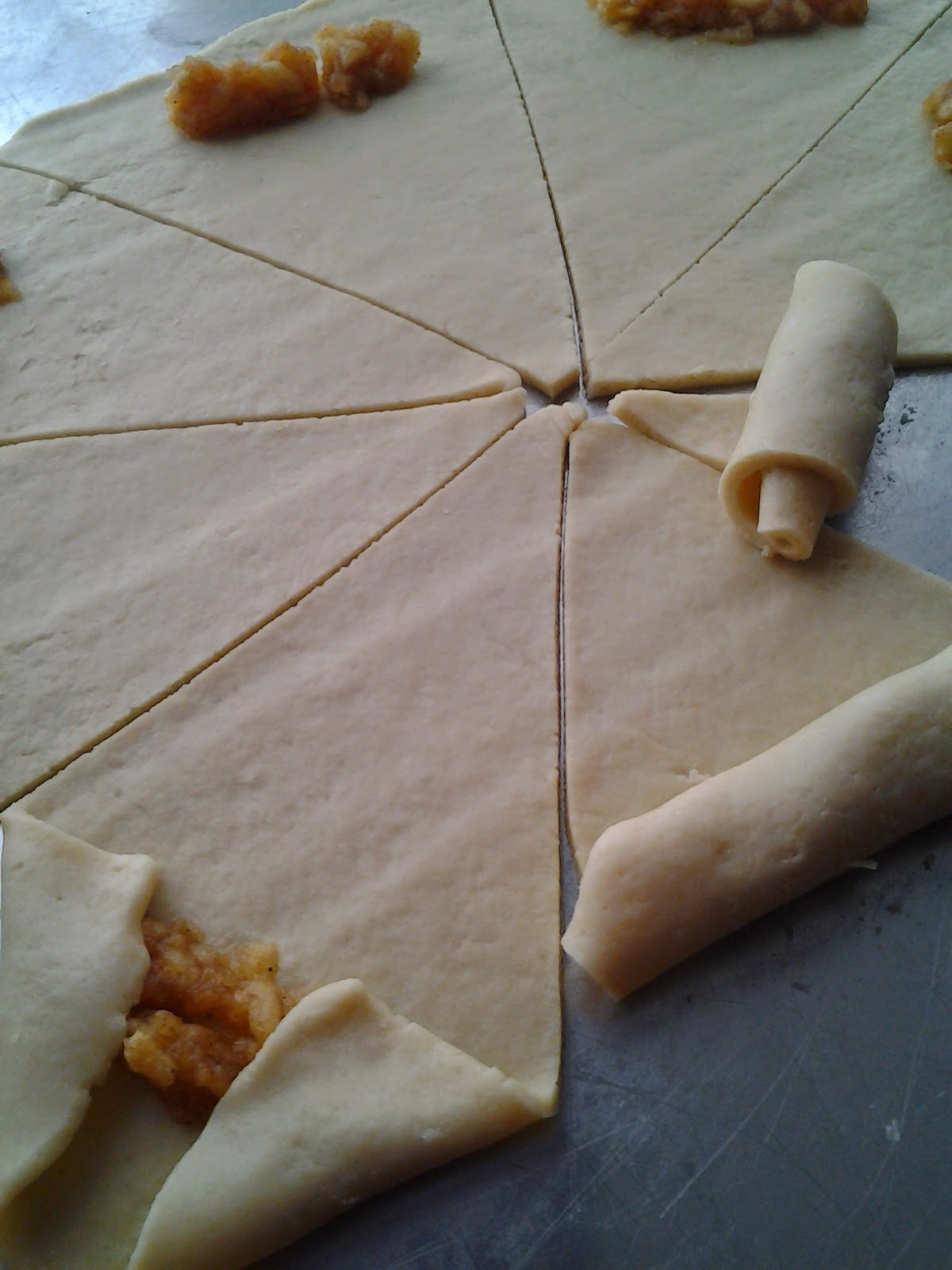 elmalı sarma kurabiye yapılışı