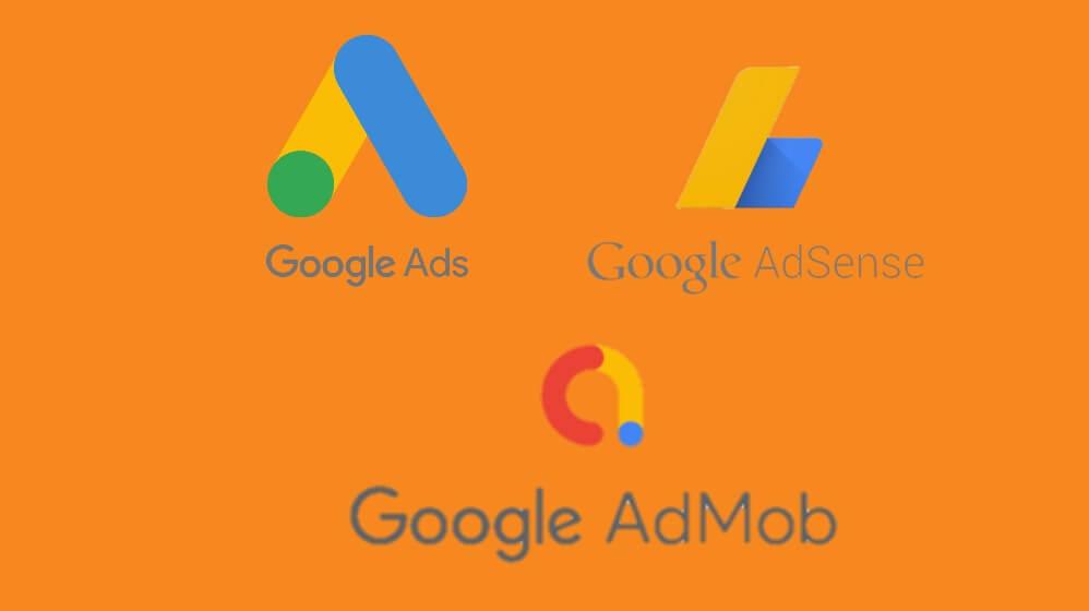 Perbedaan google adsense, admob dan google ads