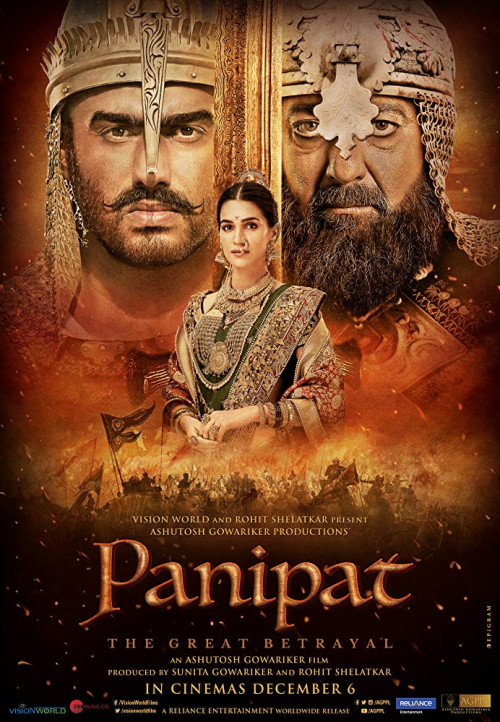 Panipat (2019) Hindi Full Movie  Download Pre-DvDRip – 480P | 720P – x264 – 400MB | 700MB | 1.2GB – Download