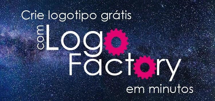 logotipo grátis com Logo Factory
