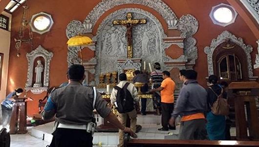 Kapolres Ungkap Hasil Pemeriksaan Pelaku Obrak-abrik Gereja di Bali