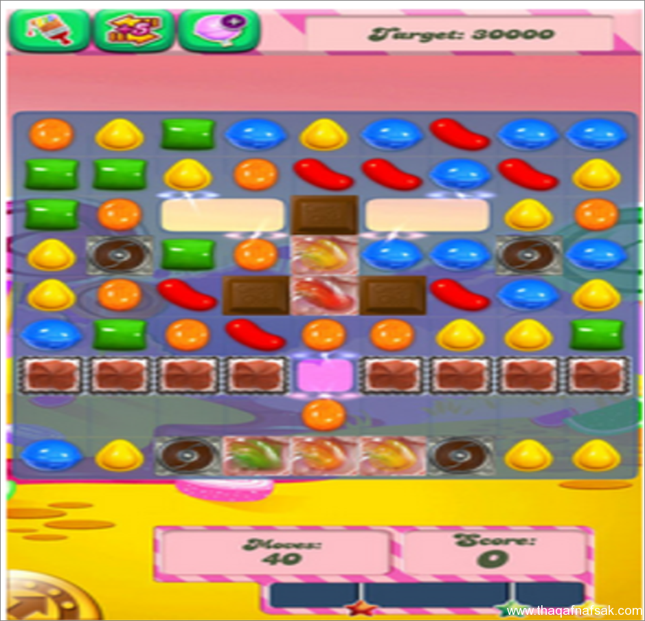 لعبة Candy Crash