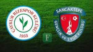 Caykur Rizespor VS Sancaktepe Belediye