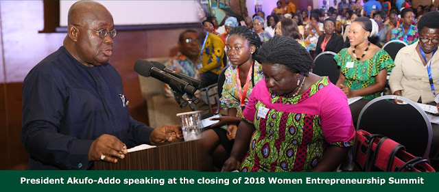 President urges more women into business