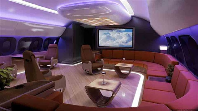 TOP MOST EXPENSIVE PRIVATE JETS In The World