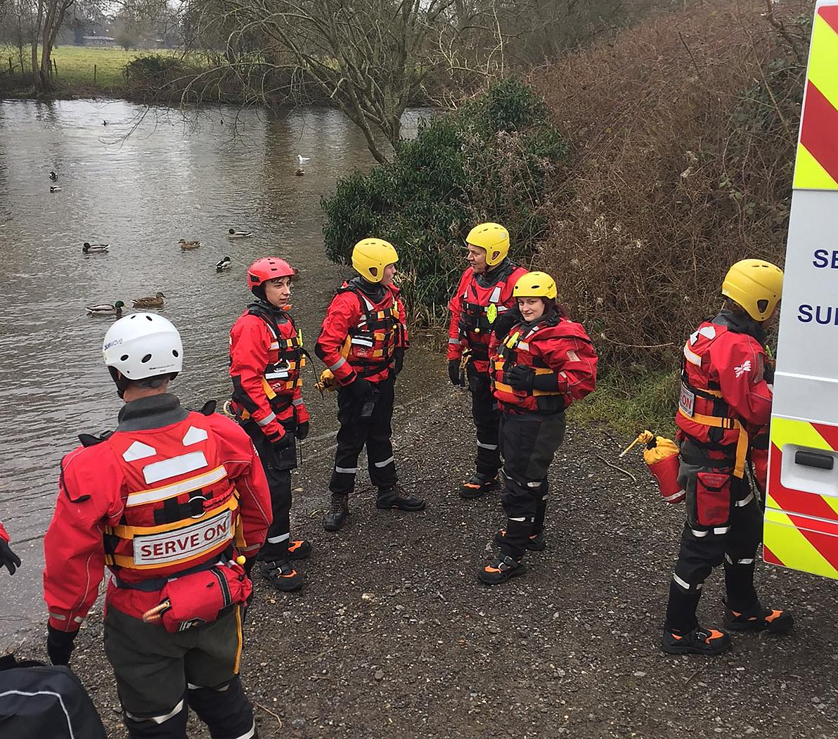 Help students reach the Philippines as part of search and research course. Wiltshire College students practice water rescue techniques at the Old Mill in Harnham. Photo: salisburyjournal.co.uk