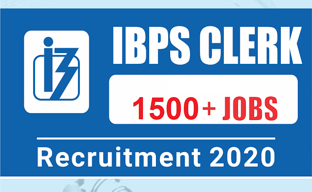 IBPS Clerk Recruitment 2020 Apply Online