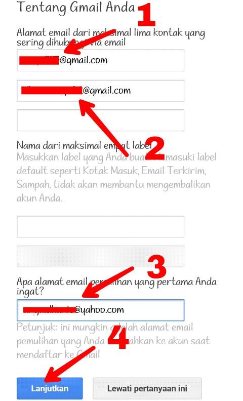 Cara Memulihkan Akun Gmail Coc Yang Dihack Dan Di Verifikasi 2
