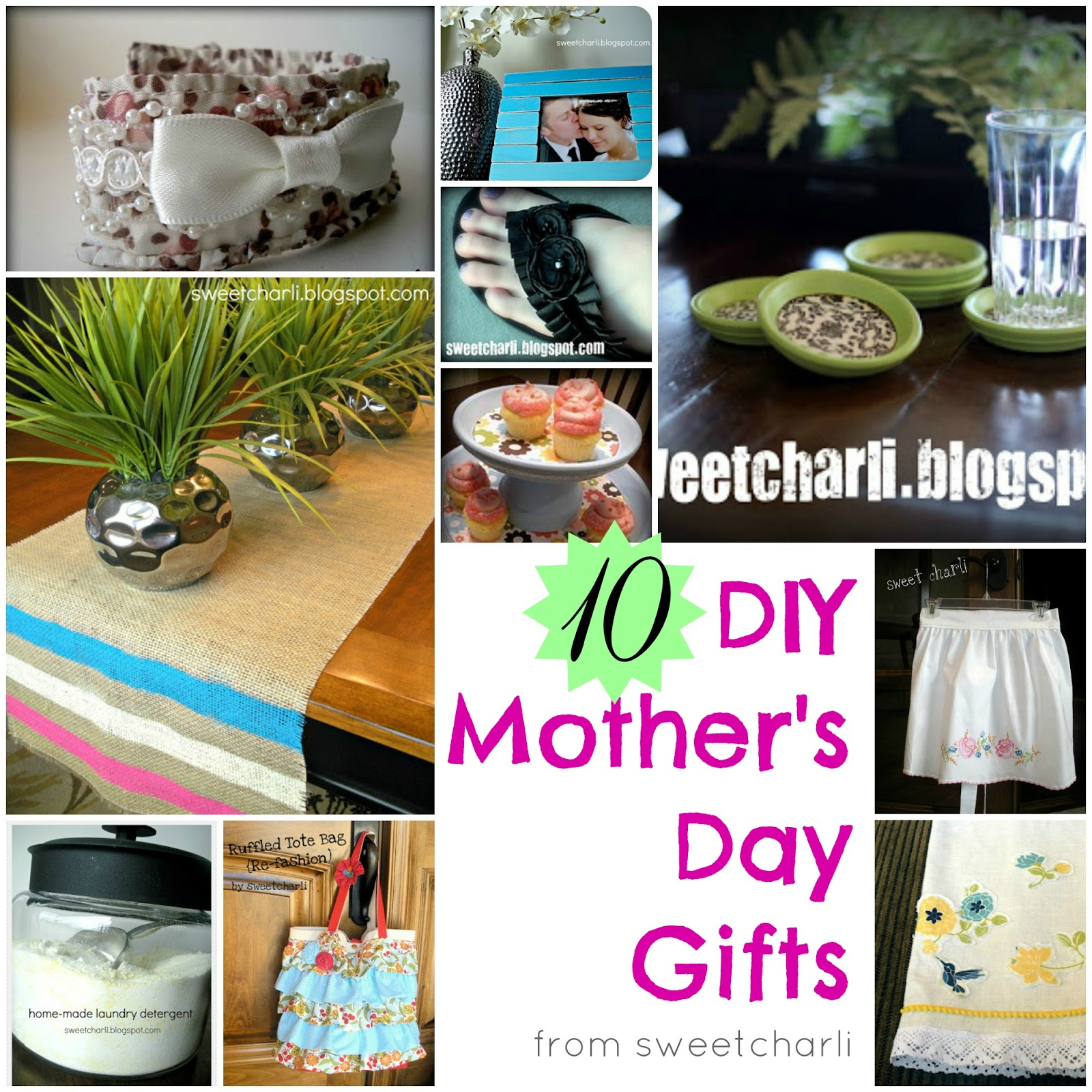 Mothers Day Gifts Diy: 10 Easy DIY Mother's Day Gifts
