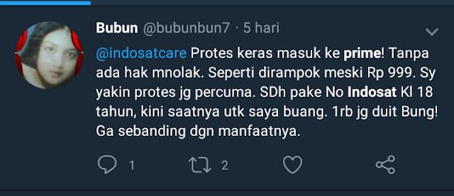 Komplain Pelanggan Indosat