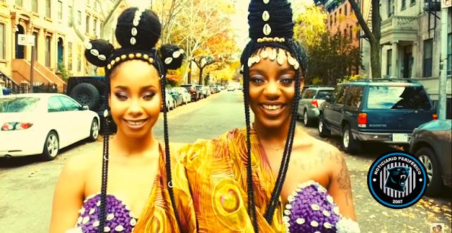 ME | Mantendo seu estilo afro-futurista, o duo Oshun lança clipe