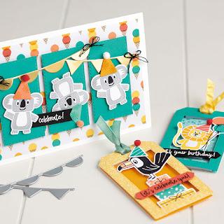 Stampin' Up! Birthday Bonanza Buddies Projects  ~ 2020 Spring Mini Catalog