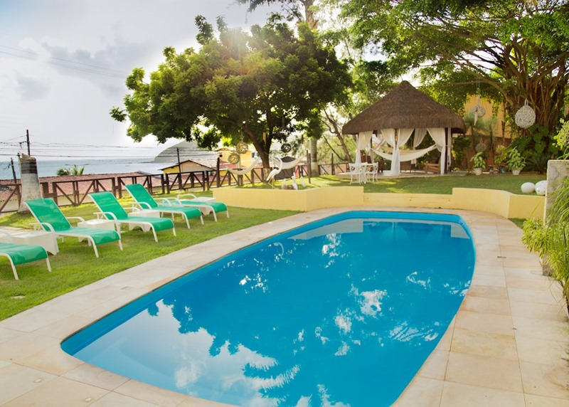 Hotel na Praia de Ponta Negra: Moriah Natal Beach Hotel