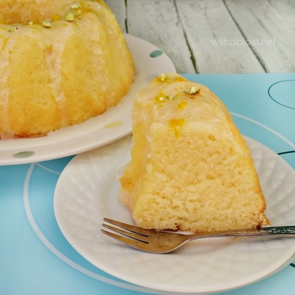 Orange Juice Cake ~ Quick, easy and bursting with Spring flavor ! This Orange Juice Cake takes literally minutes to prepare and it turns out super moist !