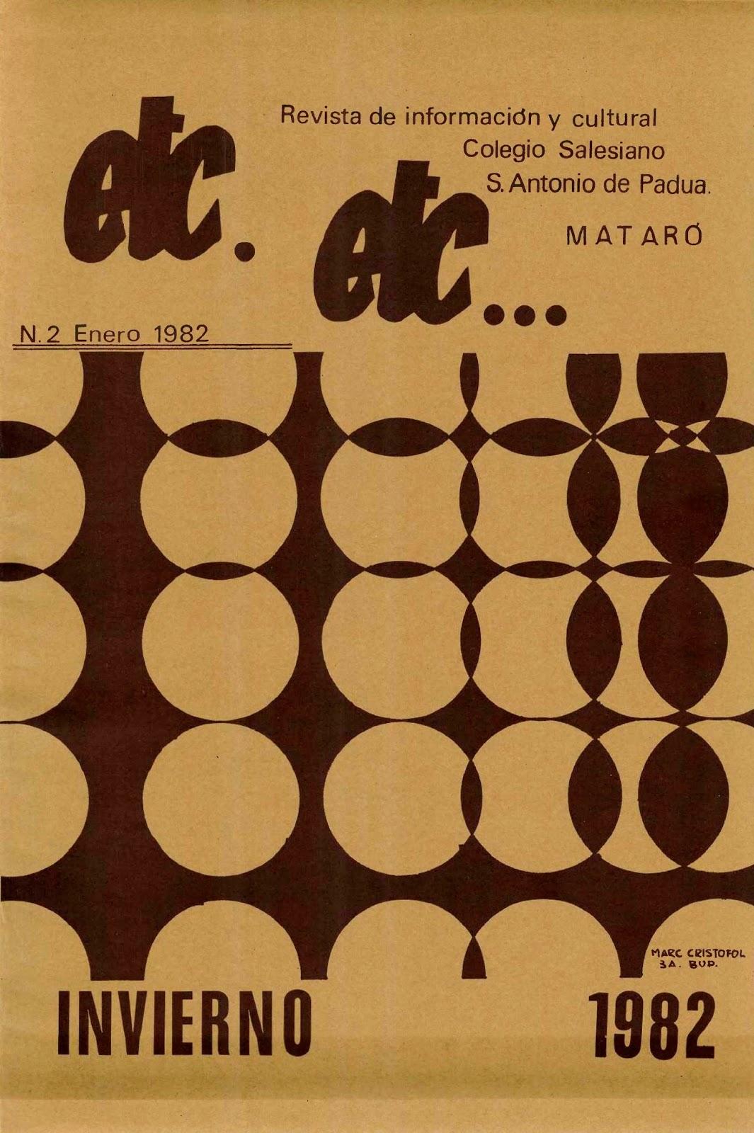 Revista etc. etc... nº2 1982