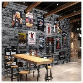 contoh desain interior cafe klasik