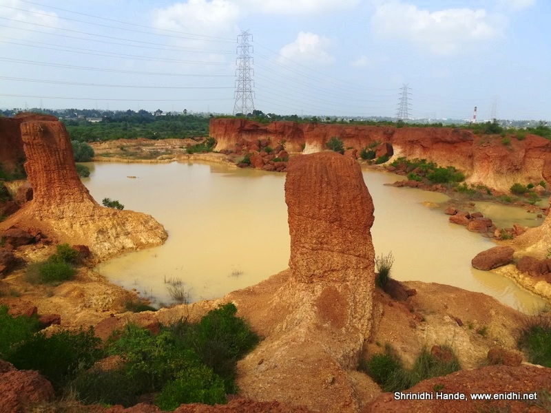 Photos of an abandoned Quarry near Chennai - eNidhi India