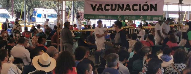 México comienza a vacunar contra el COVID-19 a los adultos de entre 50 y 59 años abriendo la esperanza de que el país vuelva a tener cierta normalidad. ONU México/Gabriela Ramirez