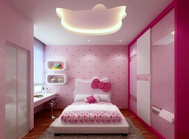 افكار حديثة لديكور سقف غرفة نوم بالصور