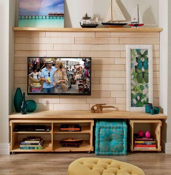 Ιδέες - Συνθέσεις για να αντικαταστήσετε το κλασσικό τραπεζάκι τηλεόρασης
