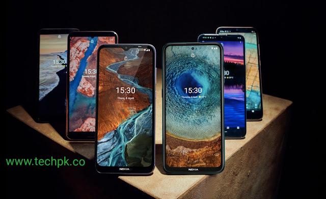نوکیا کے ایک ساتھ سی، جی اور ایکس سیریز کے 6 فونز متعارف