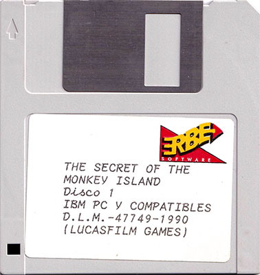 The Secret of Monkey Island Disco 1