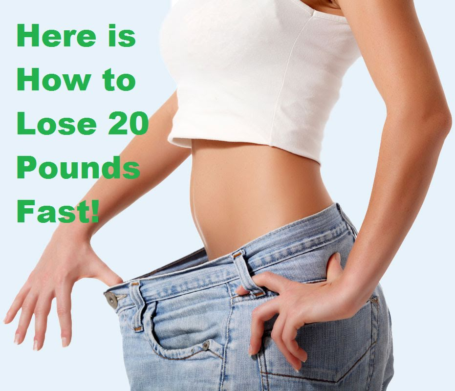 How to lose pounds fast