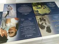contoh hasil cetak undangan pernikahan