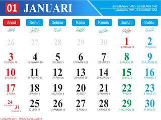 Lagi Tren Download Desain Kalender 2021 | Ideku Unik