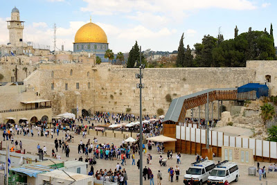 Os túneis que reconstruíram Jerusalém