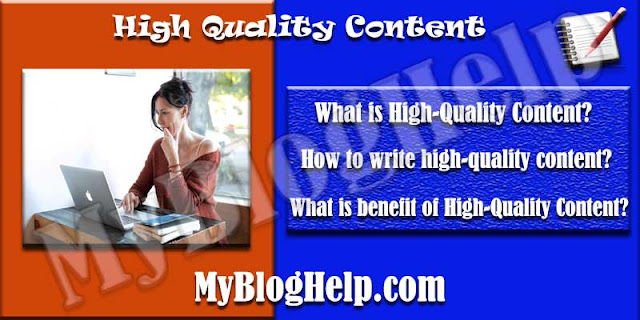 High Quality Content Writing Tips