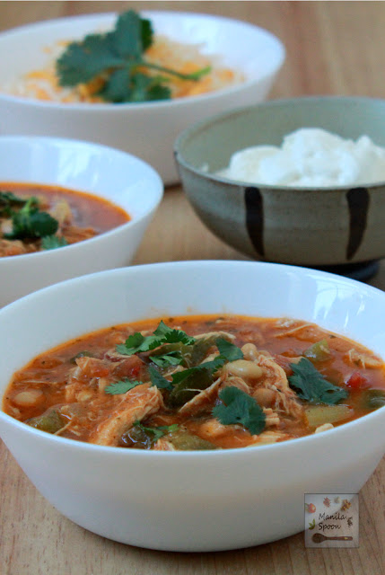 I have made this chili many times for my family and friends and it's always well loved and the super easy recipe is often requested. Slow Cooker Chicken Chili