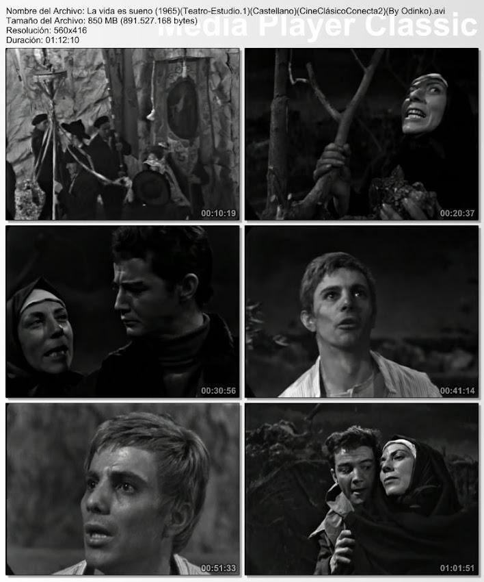 La vida es sueño 1964 | Capturas de pantalla, secuencias de la obra