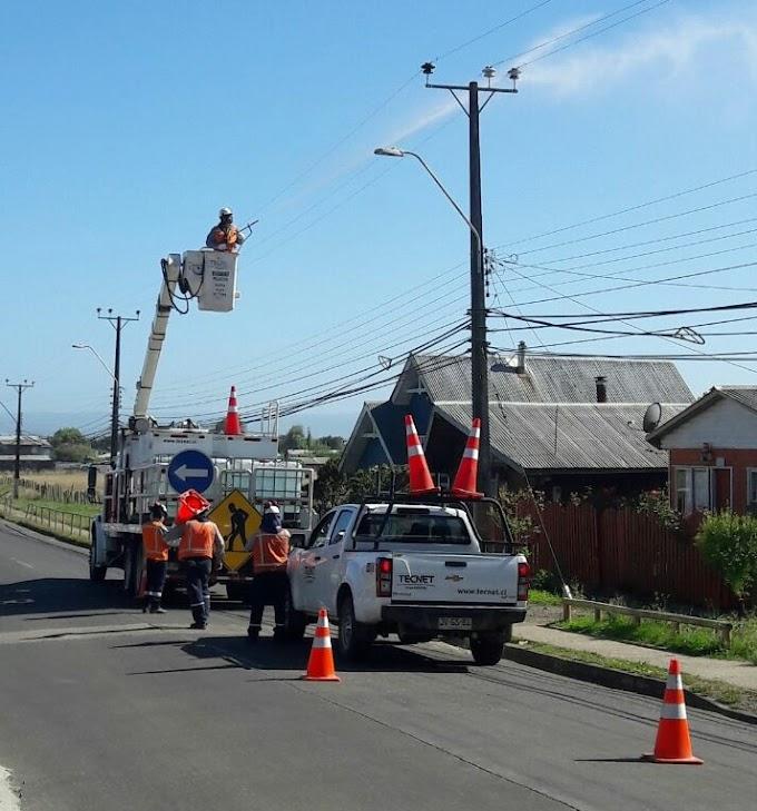 Este domingo Saesa realizará trabajos de fortalecimiento de redes de Osorno