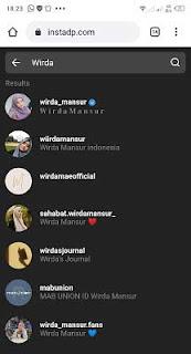 cara mengambil foto profil di instagram lewat hp