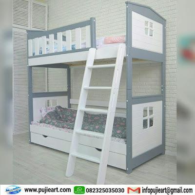 tempat tidur tingkat untuk anak minimalis