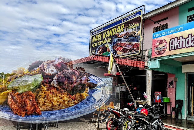 Datang Perak, Pekena Nasi Kandar Melayu Seri Iskandar Dulu