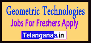 Geometric Technologies Recruitment 2017 Jobs For Freshers Apply