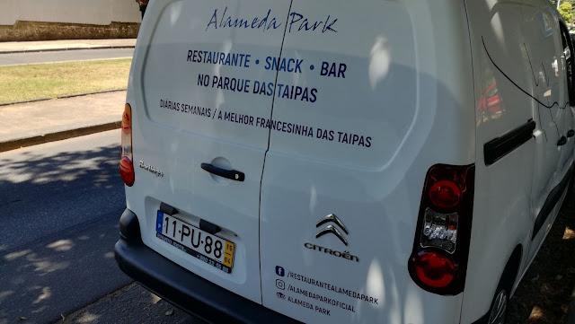 Carrinha Alameda park - Restaurante Snak Bar do Parque dasTaipas