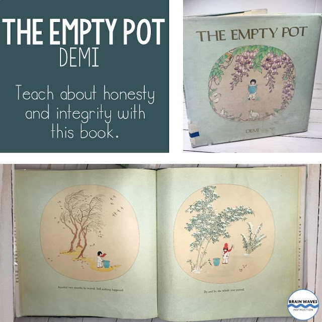 Teach the concept of theme in your middle school classroom with The Empty Pot.