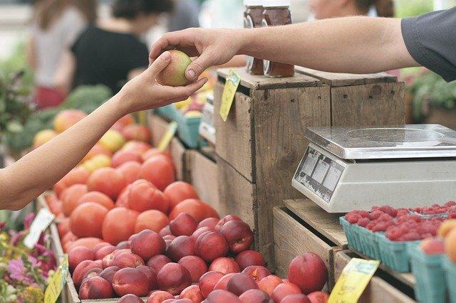 تعقيم المشتريات - الفواكه والخضروات - الأسواق - فيروس كورونا