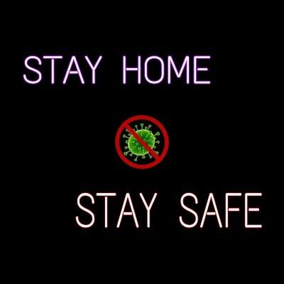 stay home stay safe quotes, stay home stay safe picture