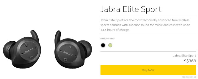 Jabra Elite Sport Review Chinese New Year Jabra Elite Sport Giveaway Worth Sgd 368 From Now Till 3rd March 2018 2359 Hrs Kaviel Teo