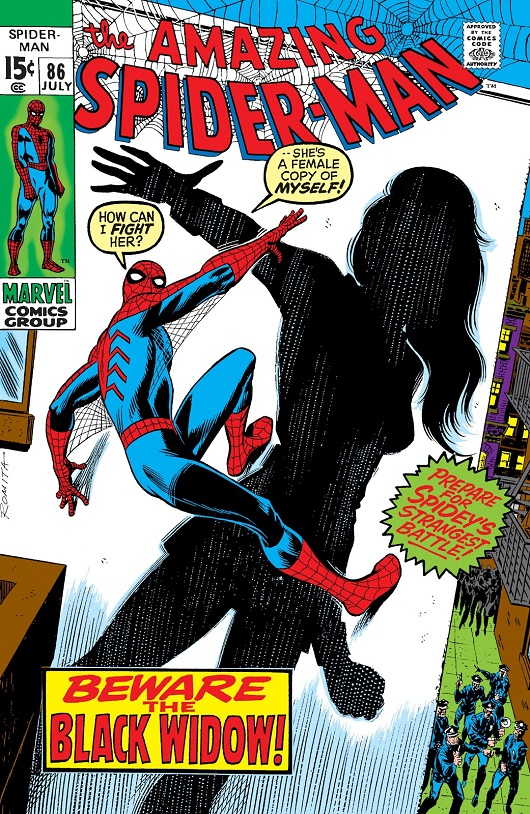 Cover of Amazing Spider-Man Vol 1 #86
