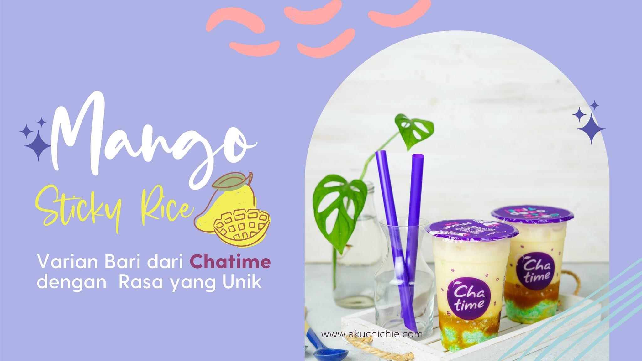 Mango Sticky Rice Chatime